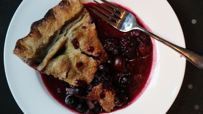 What Are Some Good Triple Berry Pie Recipes?