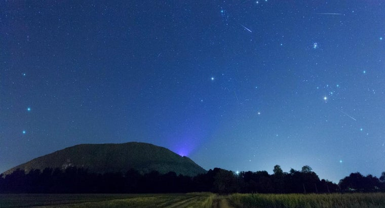 Where Can You Find the Times of Meteor Showers?