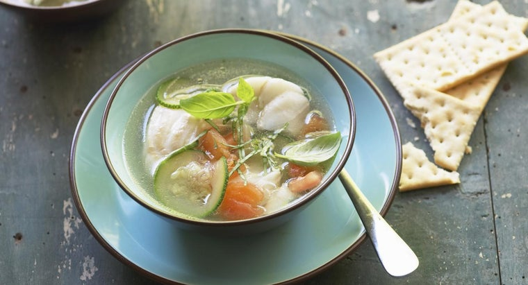 What Are Some Simple Fish Soup Recipes?