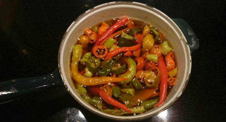 How Do You Pickle Hot Peppers?