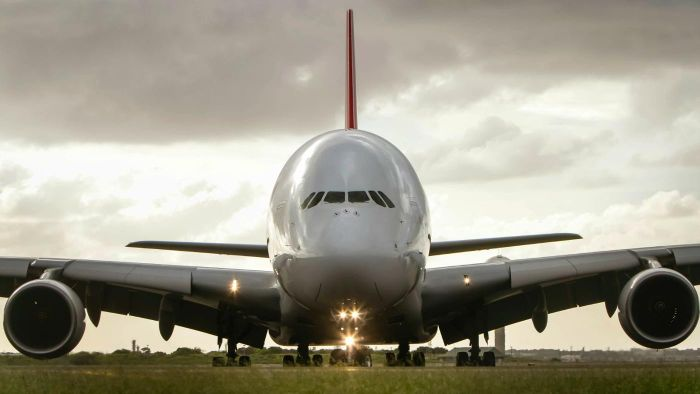 What Are Some Luxury Features of the Airbus A380 Airplane?