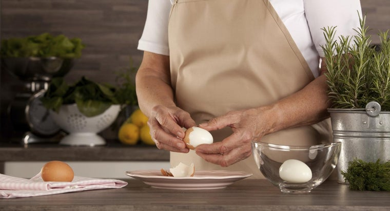 How Do You Make Hard-Boiled Eggs That Are Easy to Peel?
