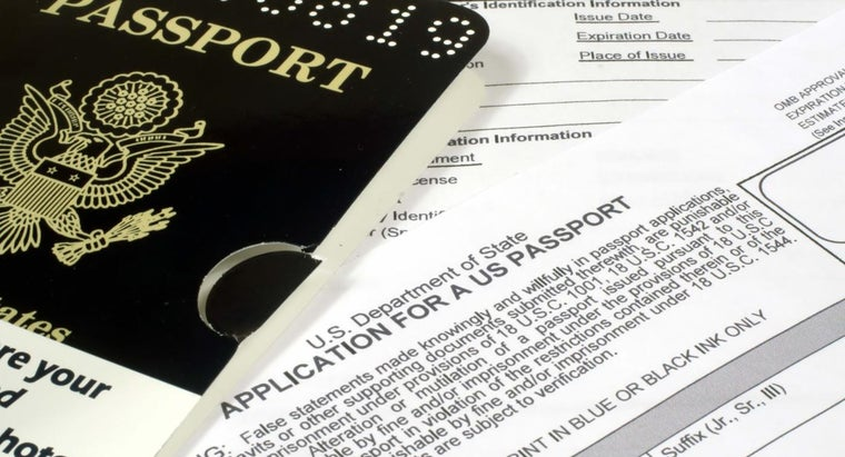 What Questions Are Asked on a Passport Application?
