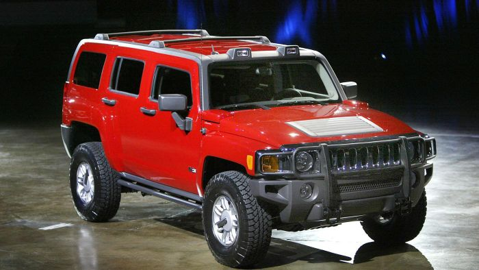 What Are the Different Styles of Hummer H3 Trucks for Sale?