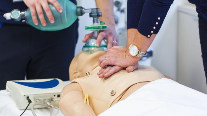Is there an accessible free CPR practice test?