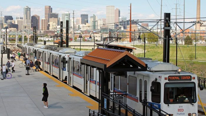 When Did Denver Launch the RTD Light Rail System?