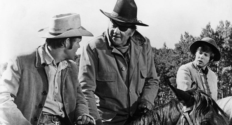 What Are Some Famous John Wayne Westerns?