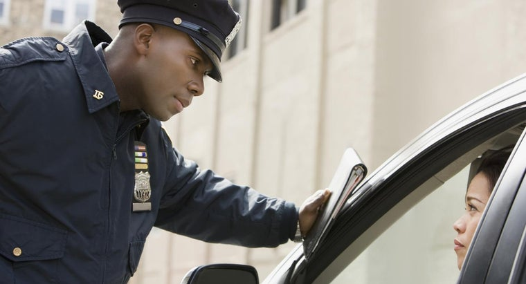 How Do You Read a Traffic Ticket?