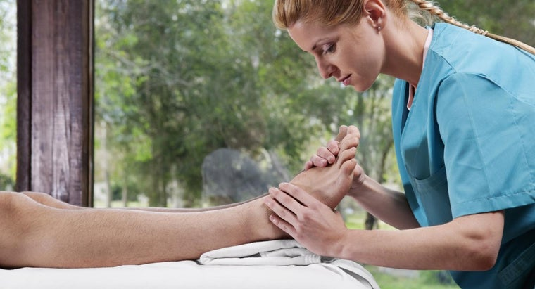 Where Can You Find a Free Foot Reflexology Chart?