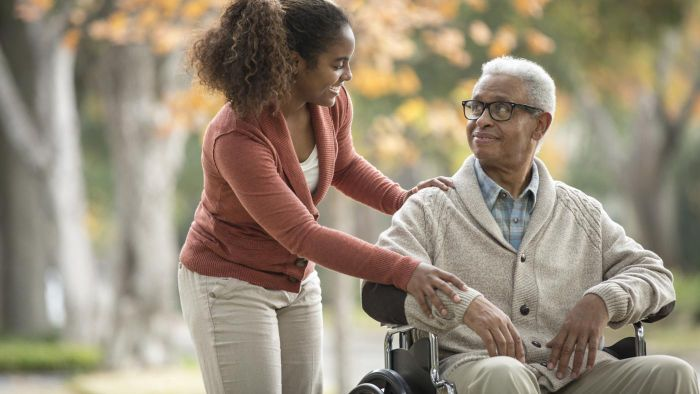 What should you look for when hiring a caregiver?
