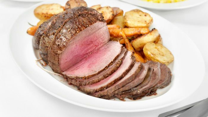 What Is a Recipe for Roasted Top Sirloin?
