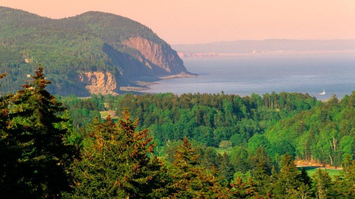 Where Is the Bay of Fundy National Park?
