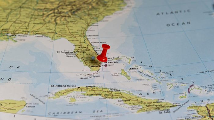 Where Can You Find a Map With Major Cities in Florida?