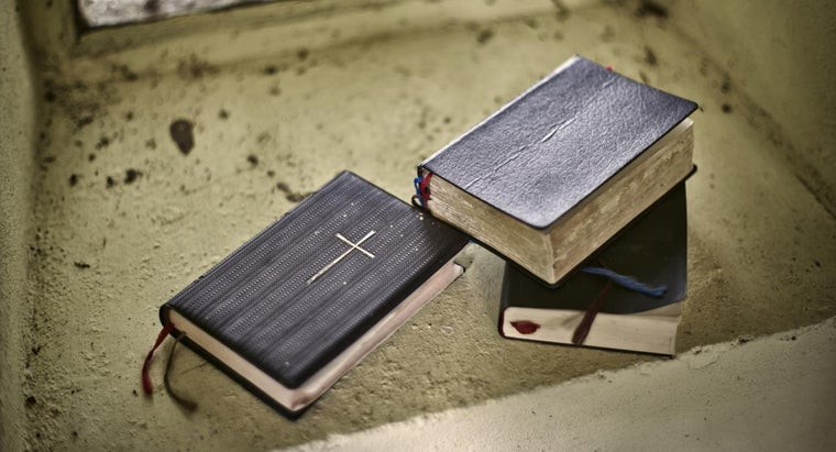 What Are the Different Types of Bibles?