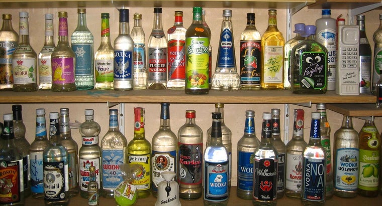 What Are the Names of Popular Vodka Brands?