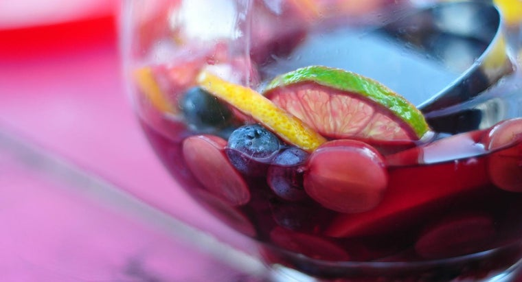 What Are Some Good Sangria Recipes?