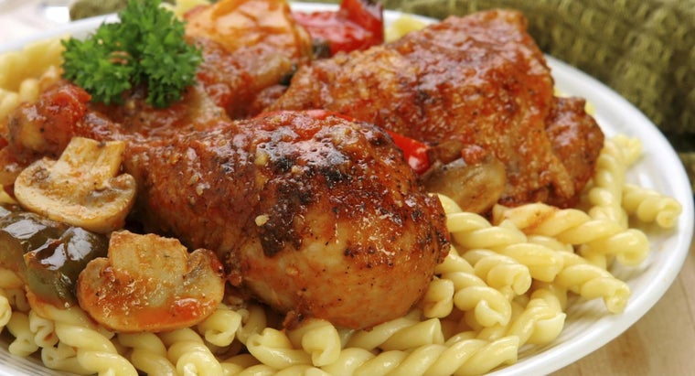 What Is an Easy Chicken Cacciatore Recipe?