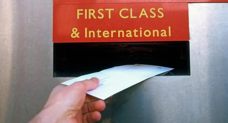 What Is the Current Rate for First Class Postage?