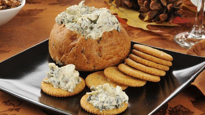 Where Can You Find a Recipe for Hellmann's Creamy Hot Artichoke Dip?
