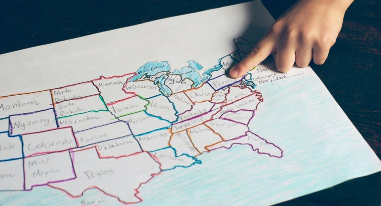 Where Can You Find a List of the 50 State Capitals in the USA?