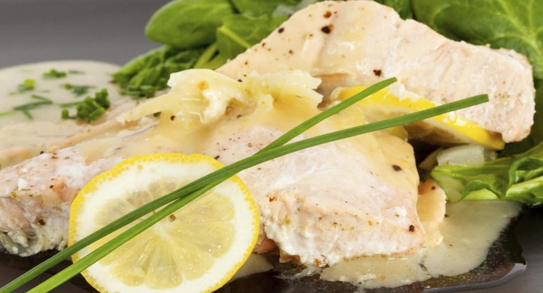 What Are Low-Fat Recipes for Lemon Butter Sauce?