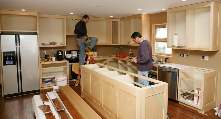 What Are Some Basics for Building Your Own Kitchen Cabinets?
