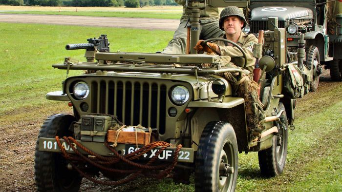 Where can you find old Army Jeeps for sale?