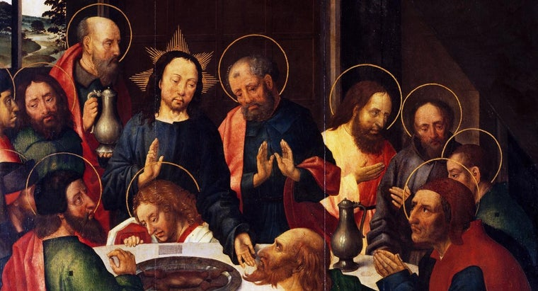 Who Are Three of the Apostles Mentioned in the Bible?