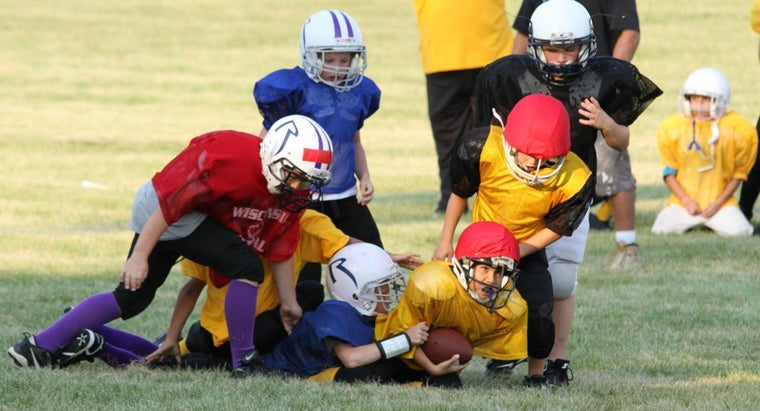 What Are the Rules of Pee Wee Football?