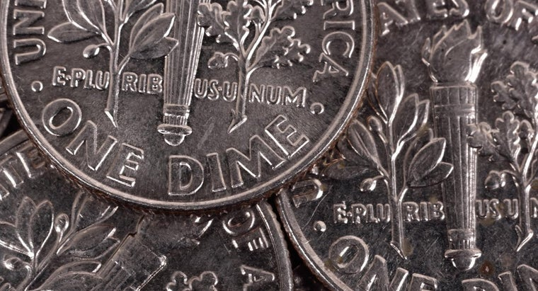 How Much Silver Is There in a U.S. Dime?