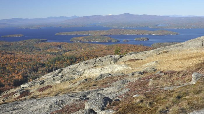 """Which state is nicknamed """"The Granite State""""?"""