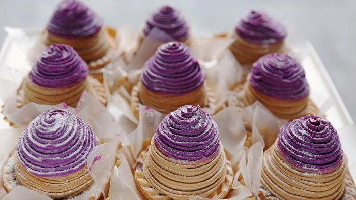 What Is a Good Recipe for Filipino Ube Cake?
