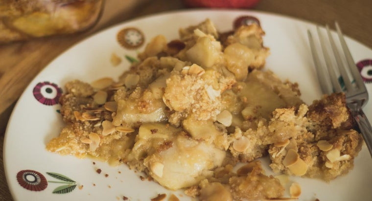 What Is a Good Apple Crumble Recipe?