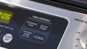 How do you repair an oven control panel that is not working?