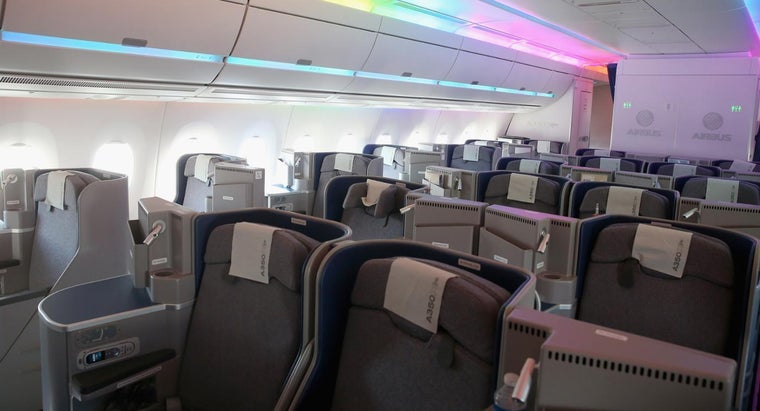 Are There Seating Diagrams Available for the Airbus A340-300?