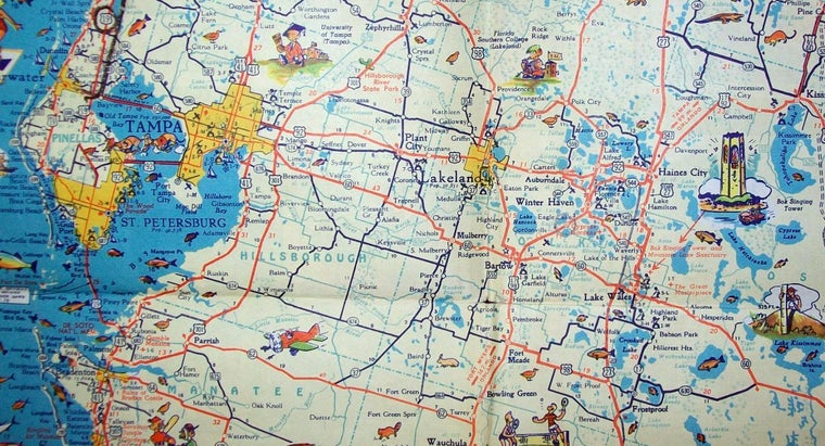 Where Can a Downloadable Map of the State of Florida Be Found for Free Online?