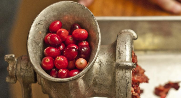 What Is a Recipe for Fresh Cranberry Relish?