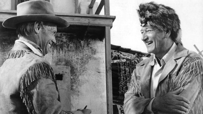 What Is the Name of the Movie Set Used for the John Wayne Movie The Alamo?