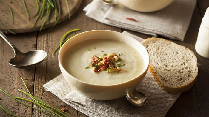Where Can You Find a Potato Soup Recipe?