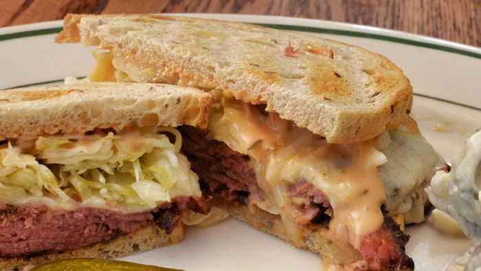 What Are the Ingredients in a Classic Reuben Sandwich?