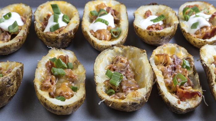 What Are Some Good Loaded Potato Skin Recipes?