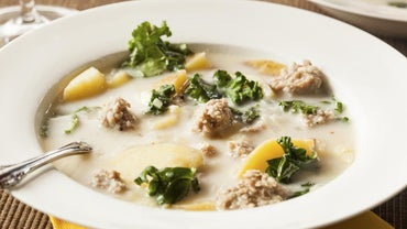 What Is the Nutritional Information for Zuppa Toscana Soup at Olive Garden?