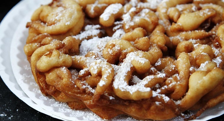 What Is a Good Recipe for State Fair Funnel Cake?