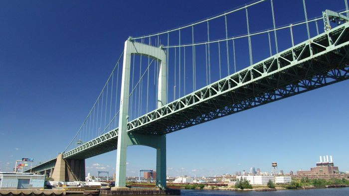 When Was the Last Safety Inspection for the Walt Whitman Bridge?