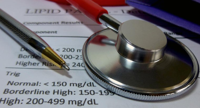 What Information Do You Find on a Cholesterol Chart?