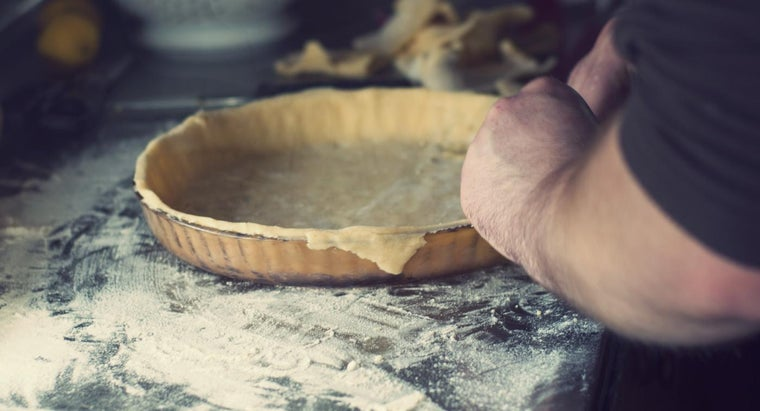 What Are Pie Crust Recipes That Do Not Use Fat?