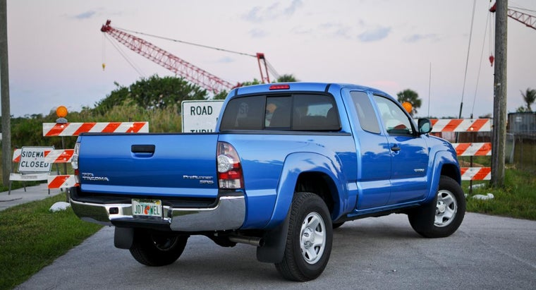 Where Can You Buy a Used Toyota Tacoma 4x4 Truck?