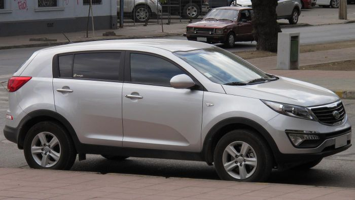 What are the specs for the 2015 Kia Sportage?