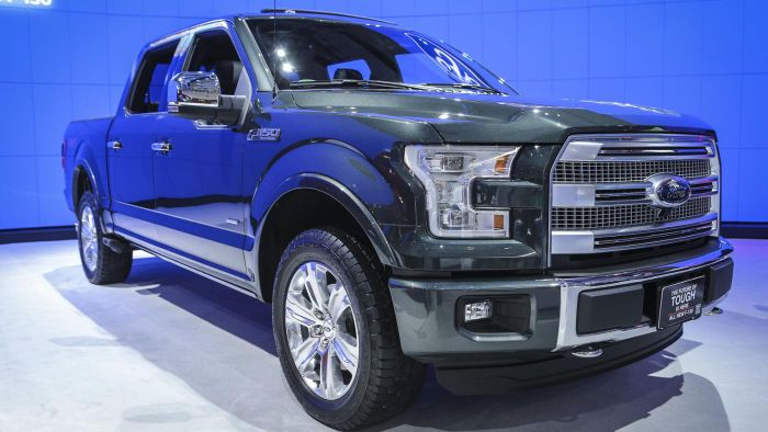 Where Can You Find a Ford F150 Tire Size Chart?