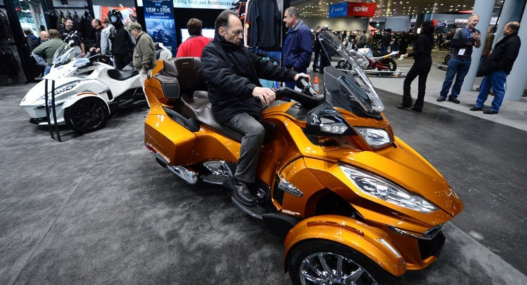 What Are Some Three-Wheel Motorcycle Models?